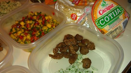 Beef carne asada tacos pic