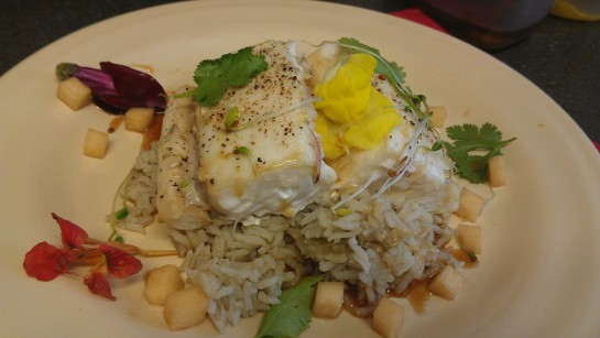 Roasted Halibut picture