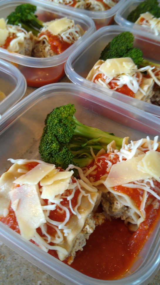 Low-fat lasagna rolls pic